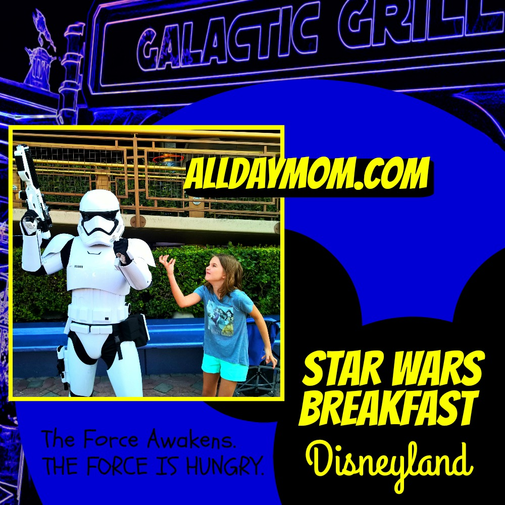 Star Wars Awakens at Disneyland - Star Wars Breakfast at Disneyland! #SeasonOfTheForce The Force Awakens. The Force is hungry.