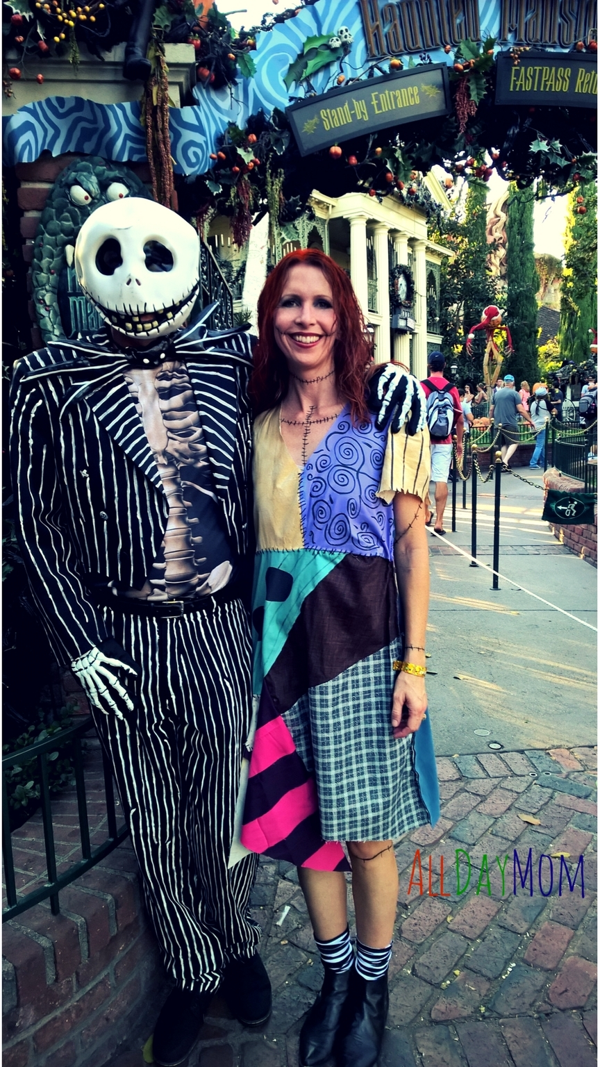 Christmas Halloween Costumes Diy.Diy Sally Costume Nightmare Before Christmas 10 Disneyland