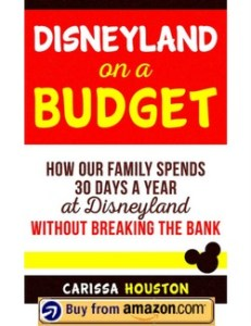 Disneyland on a Budget - How our family spends 30 days a year at Disneyland without breaking the bank - Kindle book - buy it now on Amazon!
