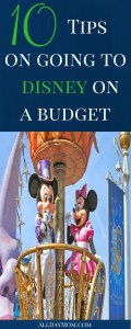 WDW Budget Tips: 10 Tips on Going to Disney on a Budget!