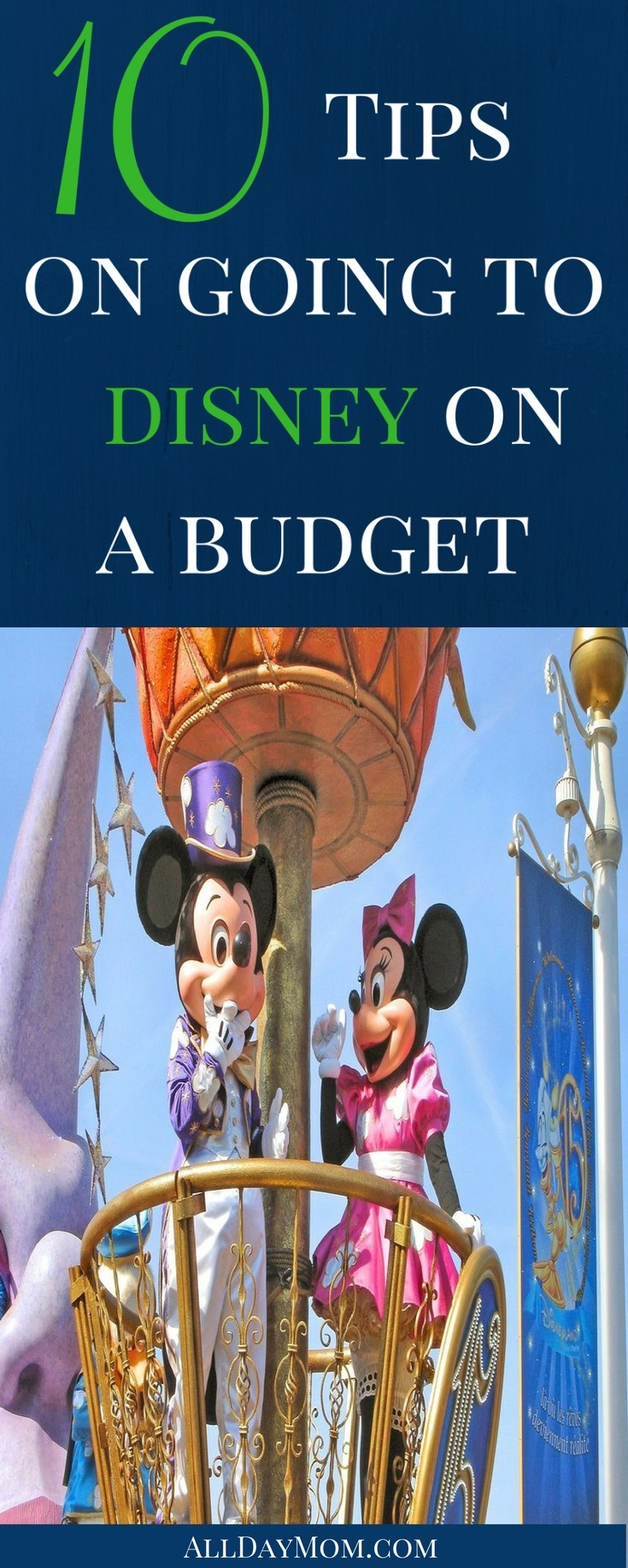 WDW Budget Tips! 10 tips for going to Disney on a Budget!