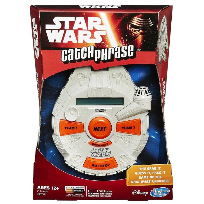 Star Wars Catch Phrase game stocking stuffer