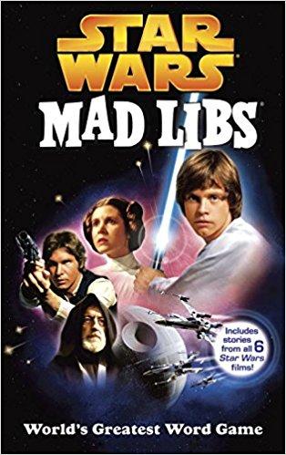 Star Wars Mad Libs stocking stuffer