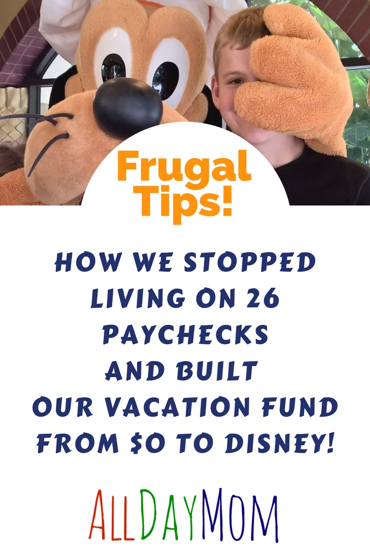 Budget for a 3 paycheck month: Build your vacation fund from $0 to ...