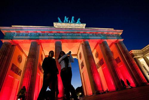 Фестиваль света в Берлине «Festival of Lights 2010». Праздник цветных ночей