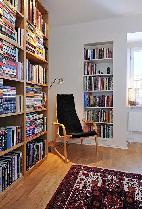 Читальный уголок. Идеи уютных интерьеров для книголюбов