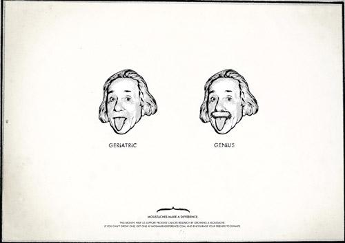 Деликатная социальная реклама об усах и о мужском достоинстве