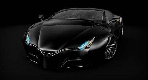Автоконцепты / Мечтать не вредно - №1. Темная лошадка Peugeot Shine