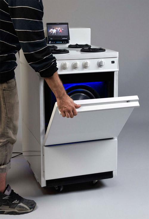 Акустическая кухонная плита «Сross-Culture»