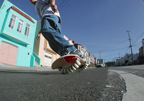 [суб]культура. Флоуборд / Flowboard. Летний сноуборд на 14 колесах