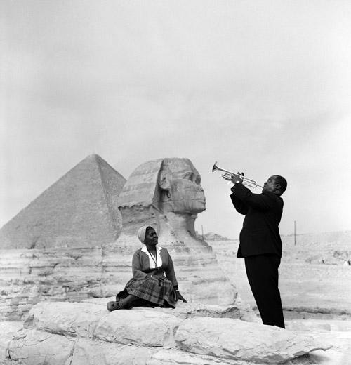 Луи Армстронг - отец джаза. What a wonderful world...