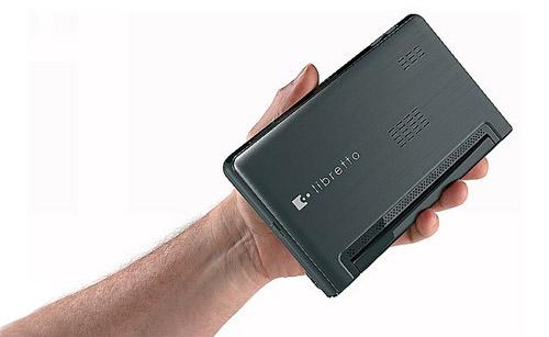 Toshiba Libretto W100 - нетбук с двумя сенсорными дисплеями