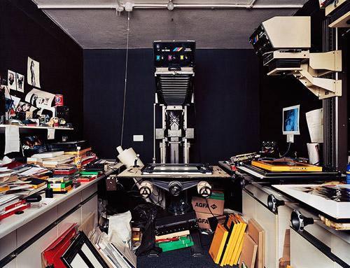 Cтарые фотолаборатории. Фотосерия Ричарда Николсона