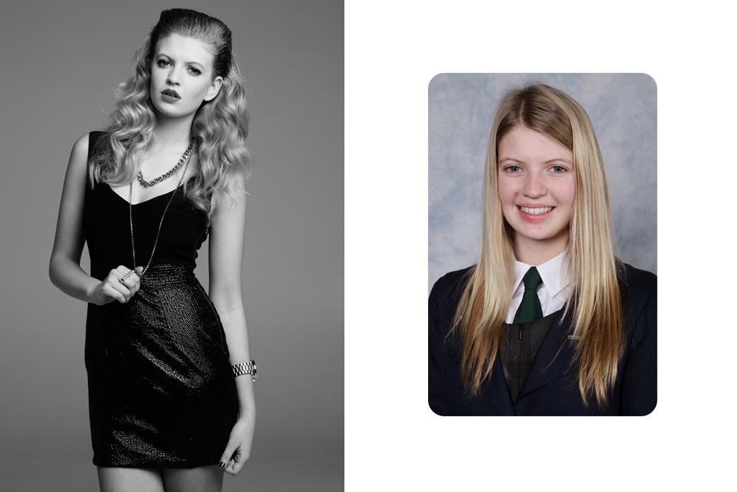 Школьницы в образе топ-моделей. Эксперимент fashion-фотографа Aaron K
