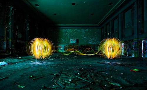 Световая электроника. Фризлайт в стиле техно от немецкого дуэта LAPP