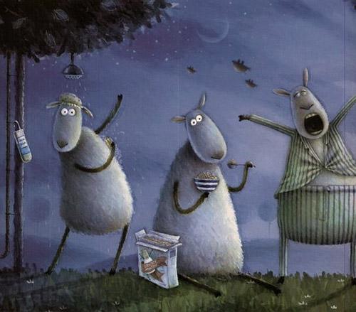 Овечка Russell и компания. Сказки для детей и взрослых от Rob Scotton