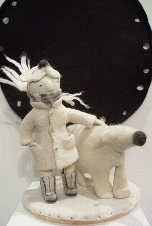 Игрушки из войлока Ирины Андреевой. Тепло для души