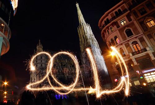 Как встретили 2011 год в разных странах мира. Праздничный фотоотчет