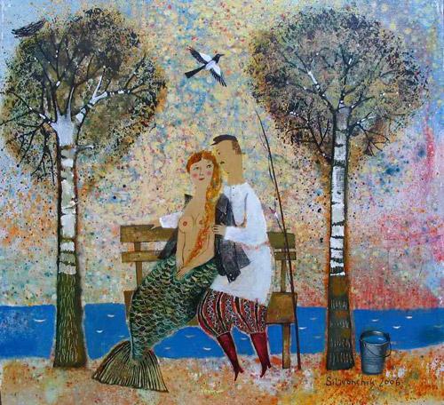 Сказки на холсте. Дети, ангелы и чудеса художницы Анны Силивончик