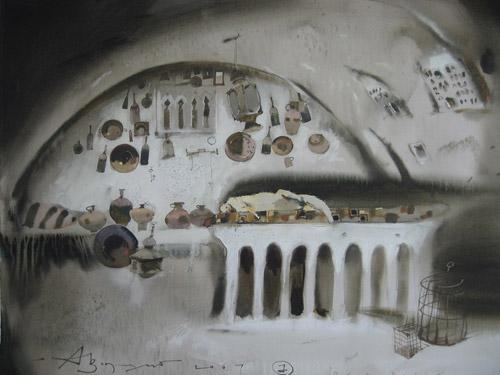 Акварельные чудеса Аруша Воцмуша. «Это - чистый наркотик творчества»