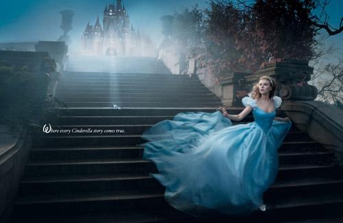 Звезды в мире сказок. Фотосерия «Disney Dream Portraits» Энни Лейбовиц