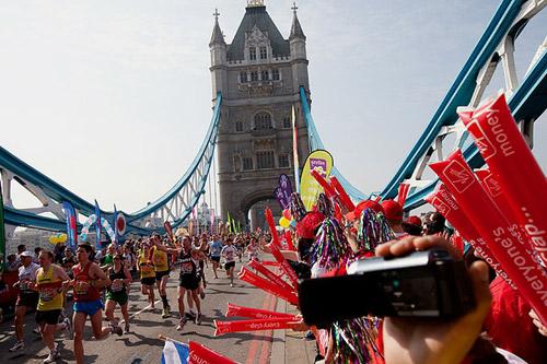 Лондонский марафон. Ежегодный весенний забег