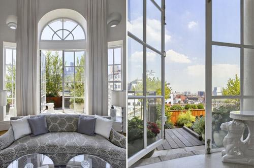 Зеленые оазисы на крышах Нью-Йорка