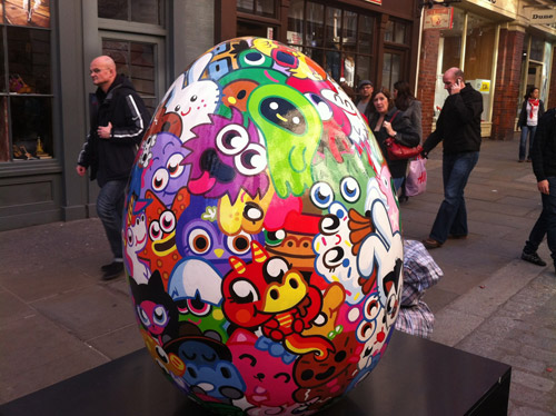 The Big Egg Hunt. Лондонская охота за пасхальными яйцами