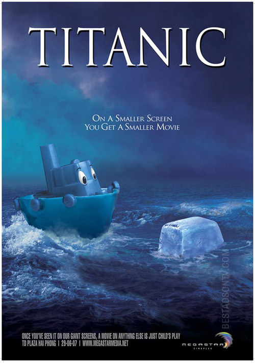 «Титаник». Непотопляемый образ в рекламе!
