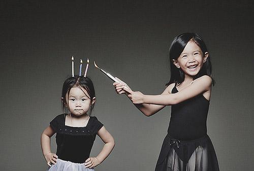 Папины дочки. Когда твой отец - фотограф :)