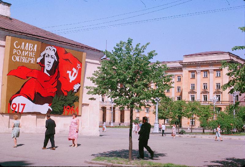 Вояж по СССР. Смоленск/Минск/Бородино 1964. Жак Дюпакье (Jacques Dupaquier). 37 фото
