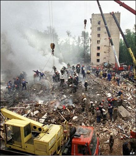 В Москве, Буйнакске и Волгодонске вспоминают жертв террактов сентября 1999 г..