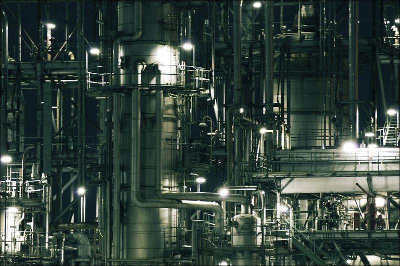 Промышленно-заводская архитектура. Япония.