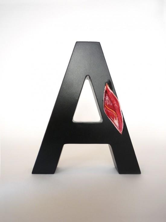 Препарирование букв. Вглубь шрифта вместе с ©Andreas Scheiger
