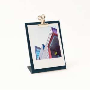 Metallic clipboard photo frame