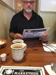 Breakfast with my Dad at the Marketside