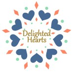 Delighted Hearts Logo Square Digital
