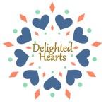 Delighted Hearts Logo Square Digital