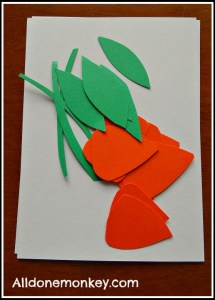 Spring Craft - California Poppies (Naw Ruz) - Alldonemonkey.com
