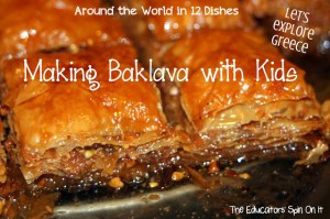 Educators Spin On It - Making Baklava with Kids