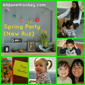 Spring Party and Free Printable (Naw Ruz) - Alldonemonkey.com