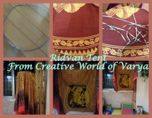 Creative World of Varya - Ridvan Tent