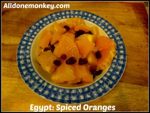 Egypt: Spiced Oranges {Around the World in 12 Dishes}