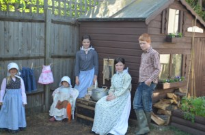 Little House on the Prairie - angelicscalliwags on Creative Kids Culture Blog Hop - Alldonemonkey.com