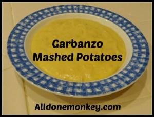 Garbanzo Mashed Potatoes - Allergen Free Diet - Alldonemonkey.com