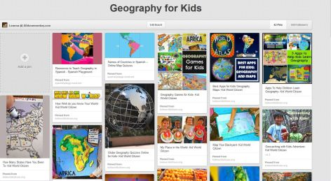 Geography for Kids - Pinterest - Alldonemonkey