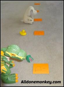 "Letter ""D"" Game for the Active Child - Alldonemonkey.com"