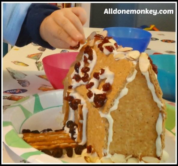 Healthy Gingerbread House - Alldonemonkey.com