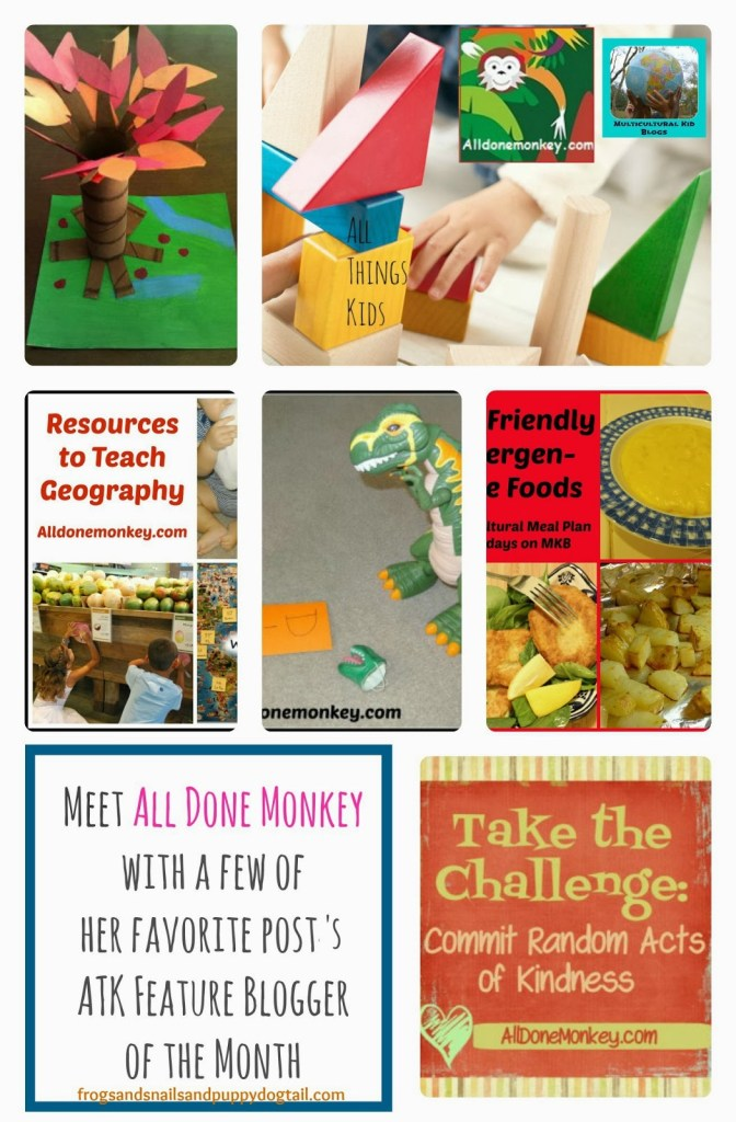 All Done Monkey Featured on All Things Kids