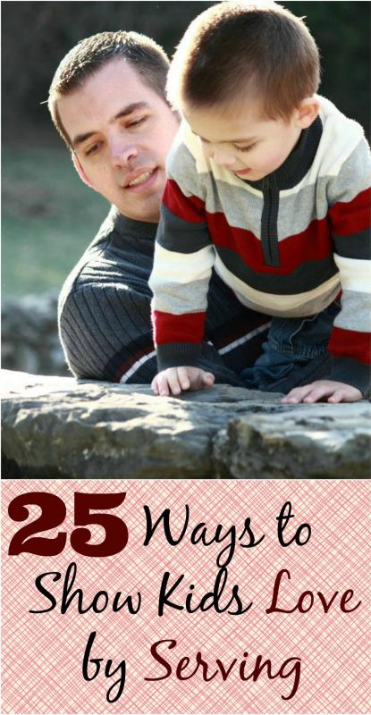 Mamas Like Me - 25 Simple Ways to Show Children Love Through Acts of Service